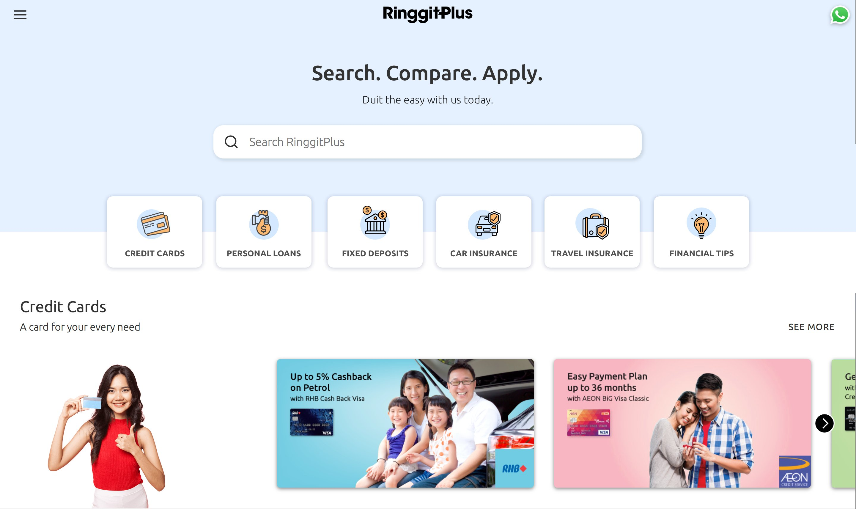 Compare Malaysia's Top Finance Products and Apply Online