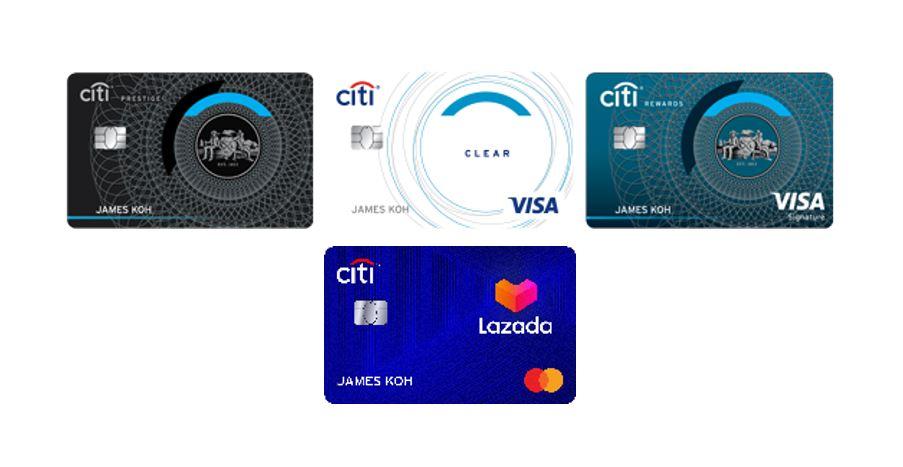 citi rewards cards