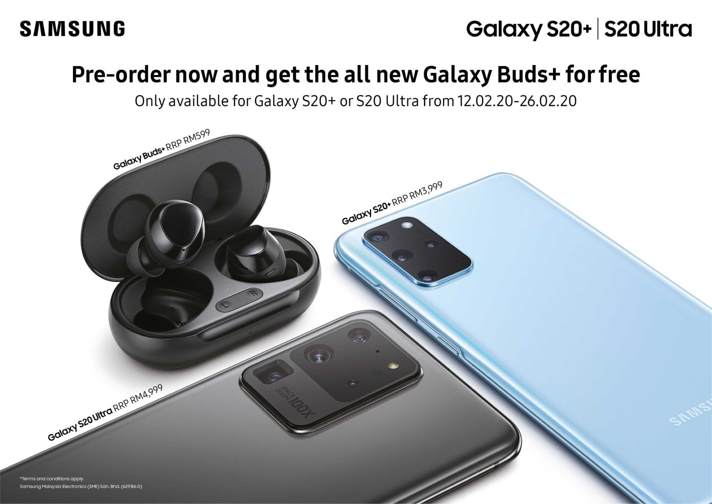 Samsung Galaxy S20 Pre Order Malaysia