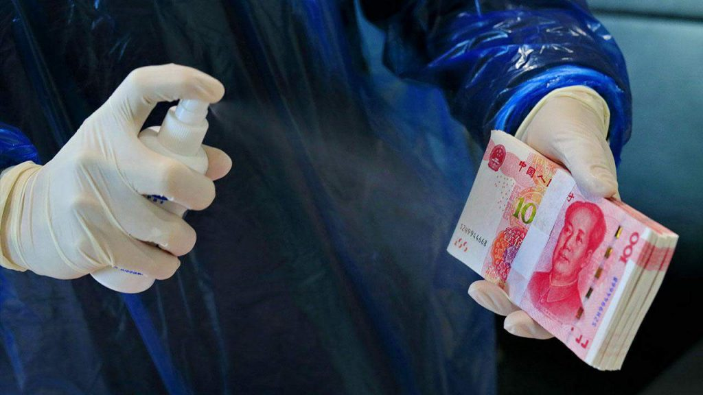 coronavirus yuan money cash