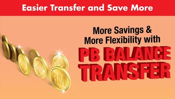 pb balance transfer