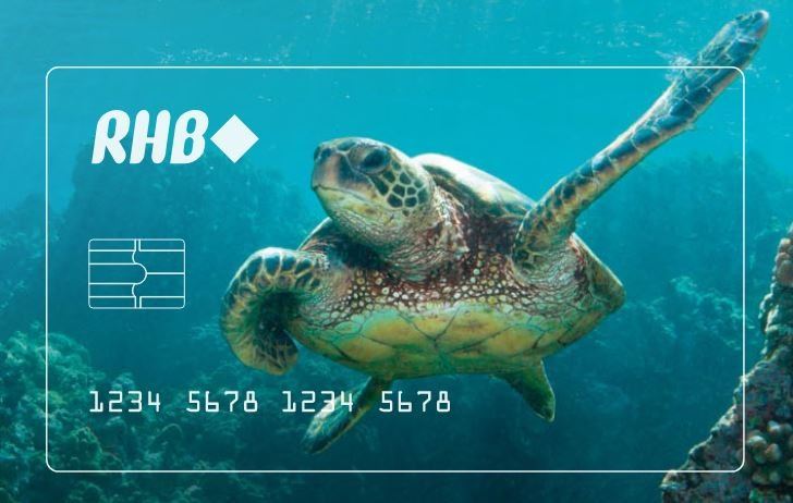 rhb recycled debit card 1