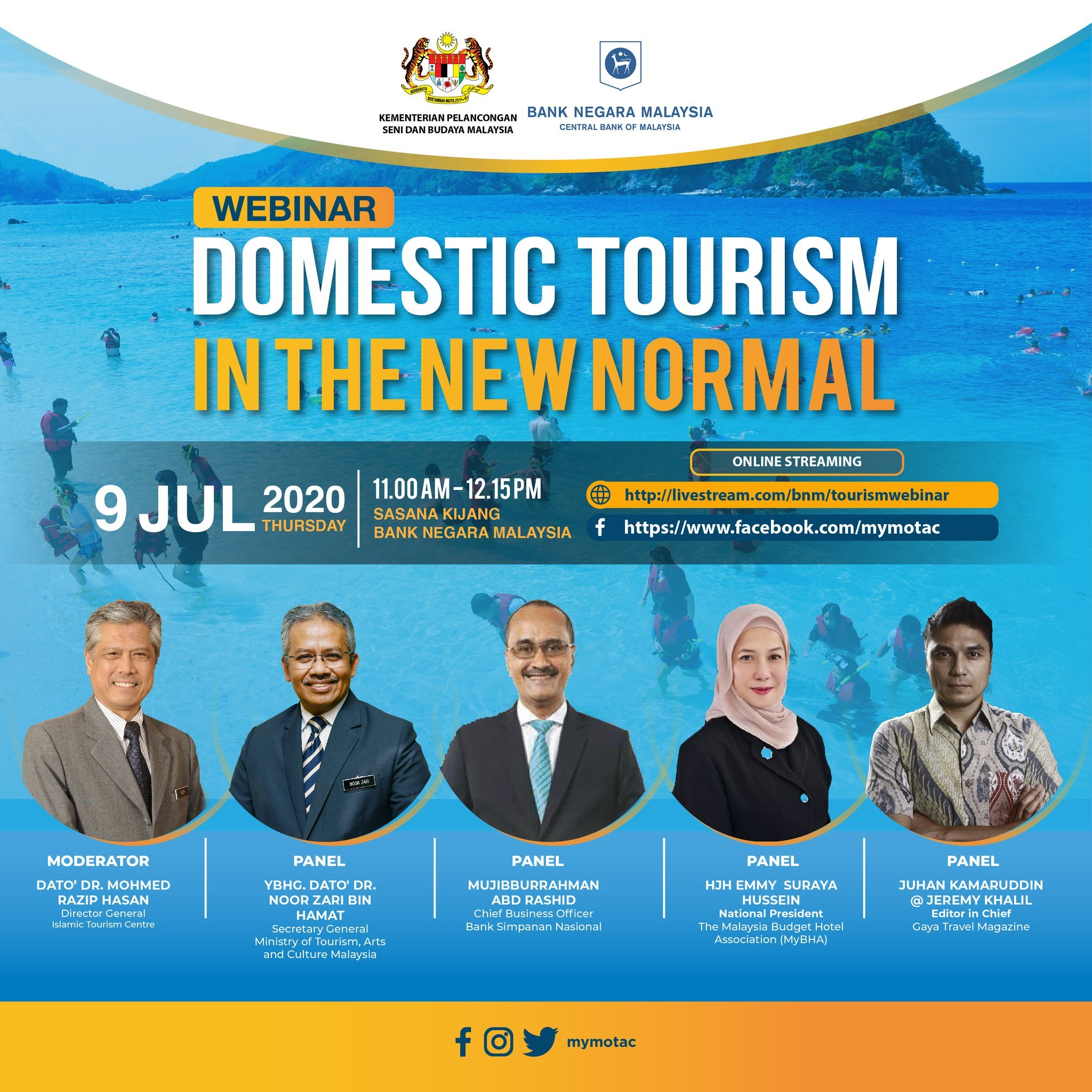 Domestic Tourism In The New Normal webinar