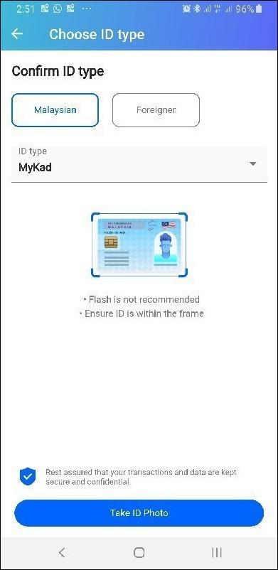tng e-wallet ekyc