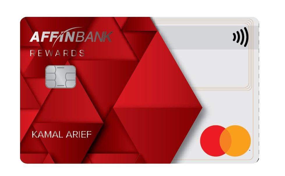 Affin Duo Mastercard Rewards Card