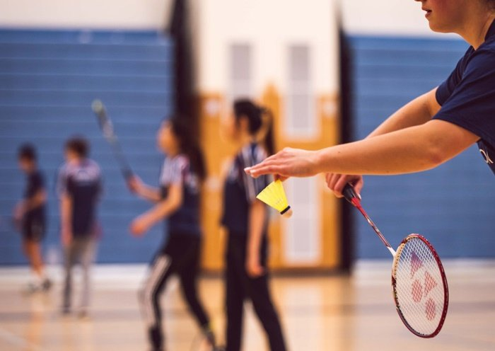 sports equipment-badminton