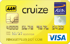 AEON Cruize Visa Gold credit card