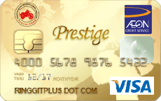 AEON Motorcycle Associate Affinity Gold credit card
