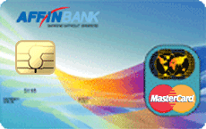Affinbank MasterCard Classic credit card