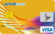 Affinbank Visa Gold credit card