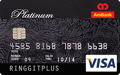 AmBank Visa Platinum credit card