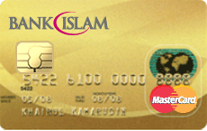 Bank Islam Gold MasterCard Card-i credit card