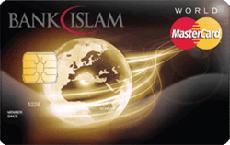 Bank Islam World MasterCard Card-i credit card