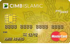 CIMB Islamic MasterCard Gold credit card