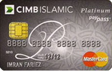 CIMB Islamic MasterCard Platinum credit card