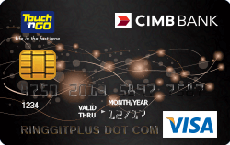 CIMB Touch 'n Go Visa Gold credit card