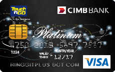 CIMB Touch 'n Go Visa Platinum credit card