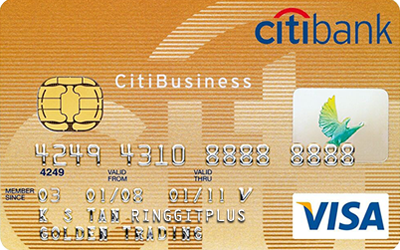 Citibank Citi Business Get a business size credit limit