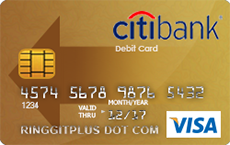 Citibank Debit & ATM Card credit card