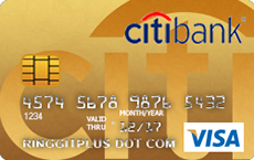 Citibank Credit Card Payment Online >> Citibank Gold Visa - 3X Citi Rewards Points