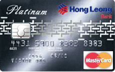 Hong Leong Platinum MasterCard credit card