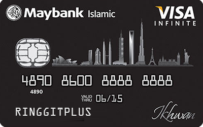 Maybank Islamic Ikhwan Visa Infinite Card-i credit card