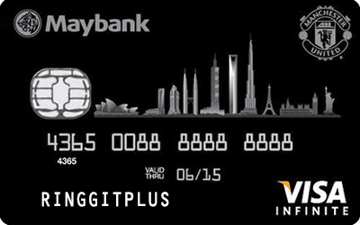 Maybankard Manchester United Visa Infinite credit card