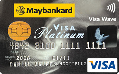 Maybankard Visa Platinum credit card