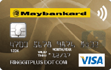 Maybankard Visa Wave credit card