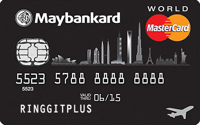 Maybankard World MasterCard credit card