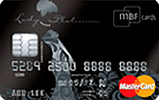 MBF Card Lady Gold credit card
