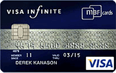 MBF Card Visa Infinite credit card