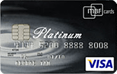 MBF Platinum Visa credit card