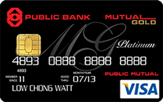 Mutual Gold Public Bank Visa Platinum credit card