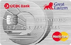 OCBC Great Eastern Titanium MasterCard credit card