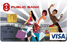 Public Bank Day2Day Visa Card credit card