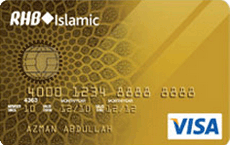RHB Gold Credit Card-i Visa credit card