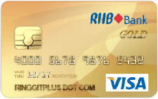RHB Gold Visa credit card