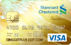 Standard Chartered Business Visa Gold credit card