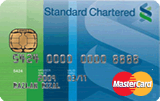 Standard Chartered Classic MasterCard credit card