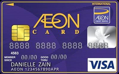 New AEON Visa Classic