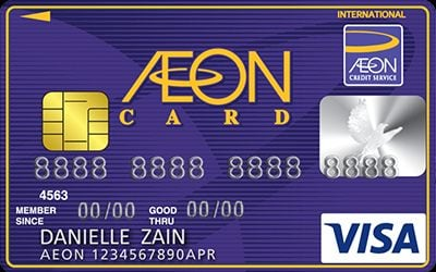New Aeon Visa Classic Earn Rewards Faster