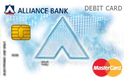 Alliance Bank Hybrid Standard Debit MasterCard credit card