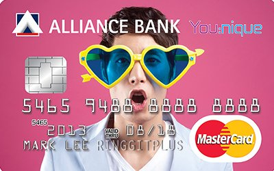 Alliance Bank You:nique - Great Rates credit card
