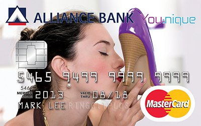 Alliance Bank You:nique - Great Rebates credit card