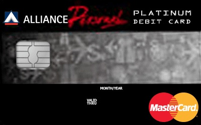 Alliance Hybrid AP Platinum Debit Card credit card