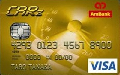 AmBank CARz Gold Visa credit card