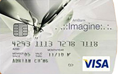 AmBank Imagine Visa credit card