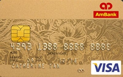 AmBank Visa Gold credit card