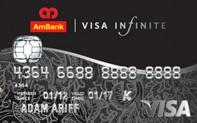 AmBank Visa Infinite credit card